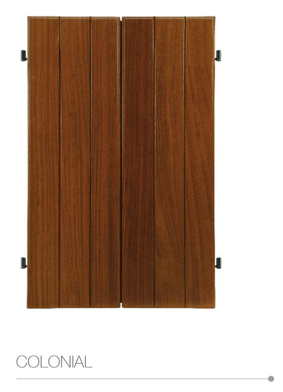 Vertaglia scuri legno garanzia 8 anni legno for Scuri in legno costo