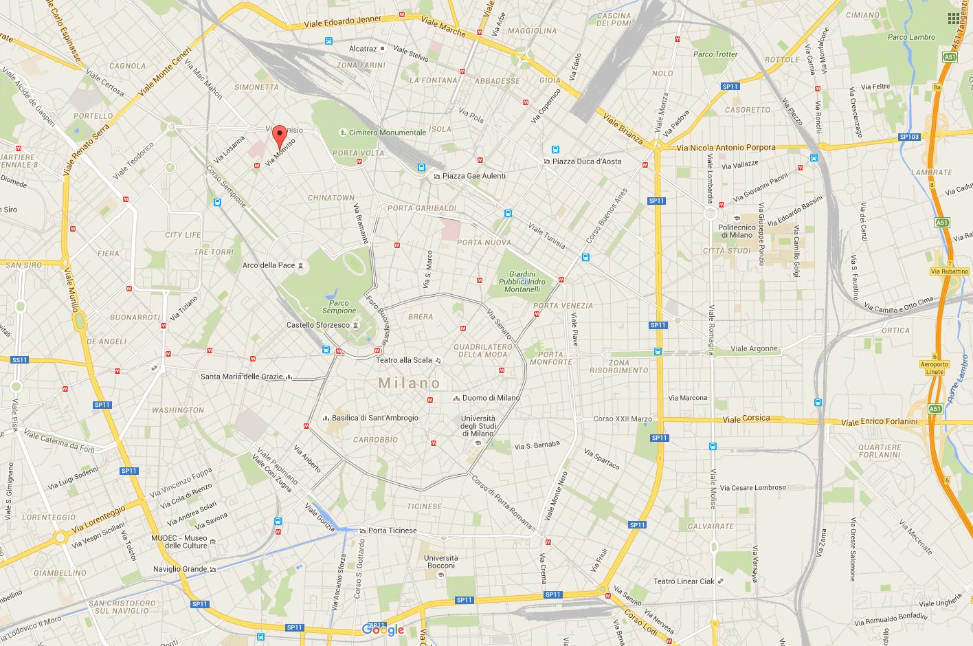 Milano – via Monvisio