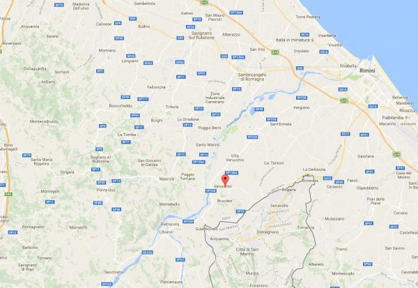 Verucchio Maps