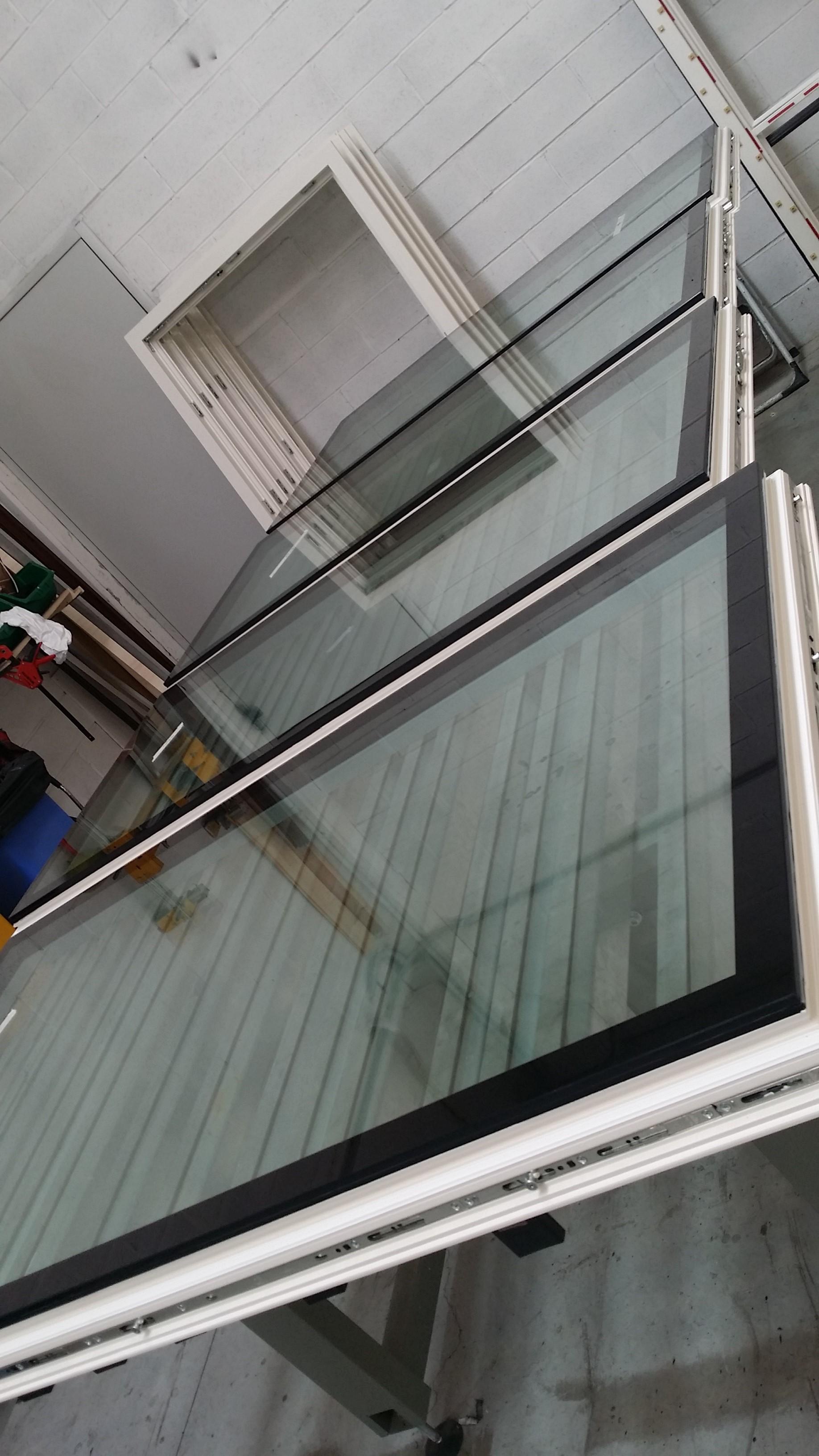 Full glass work in process per villa a Rimini!