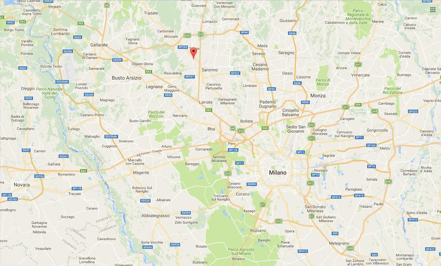 Gerenzano (Varese): quadrifamiliare con infissi Vertaglia!