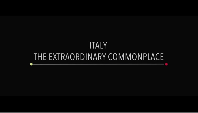 Italy the Extraordinary Commonplace