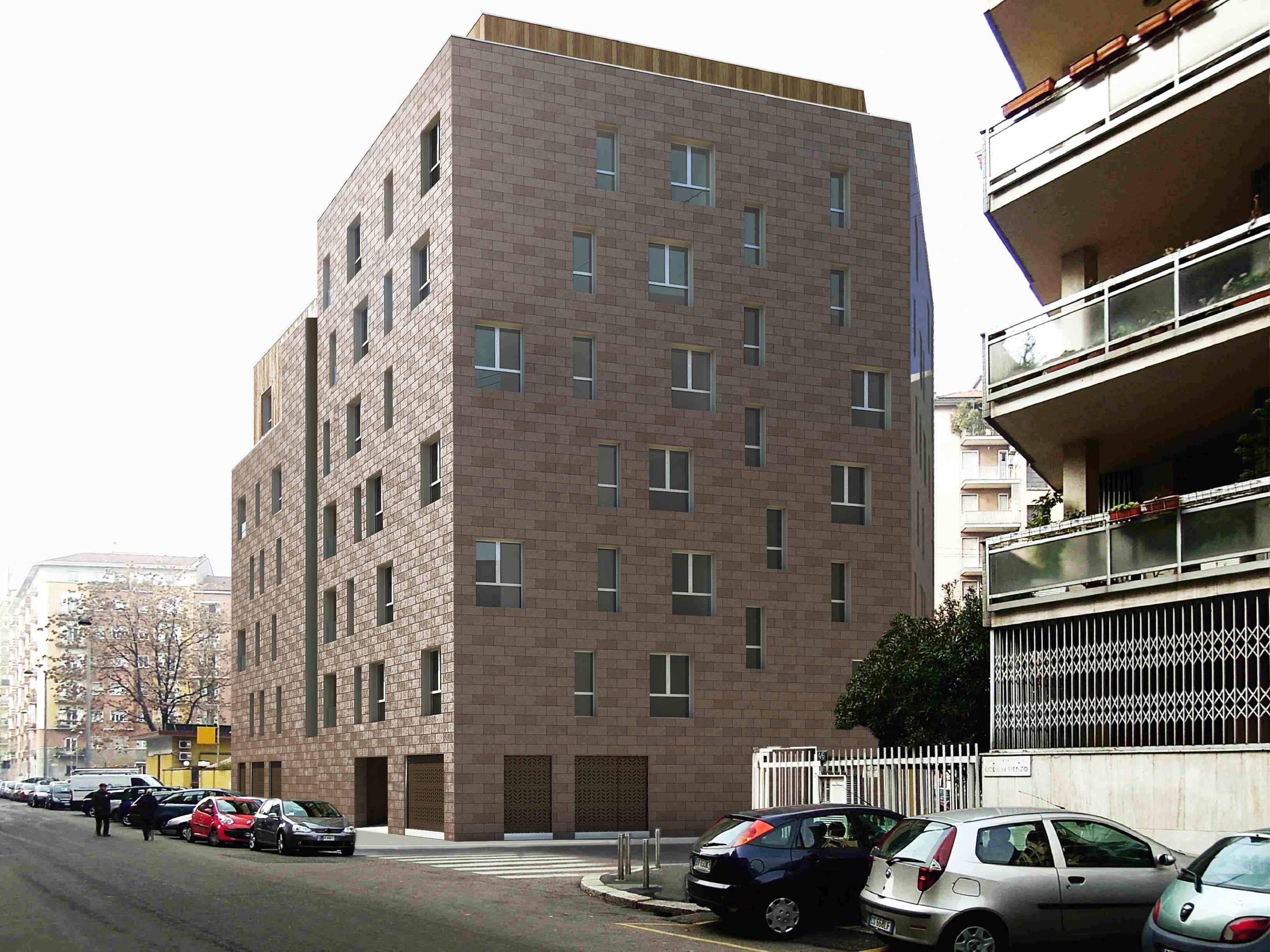Milano, via Cola di Rienzo: Casaverdenoce utilizzerà infissi Vertaglia